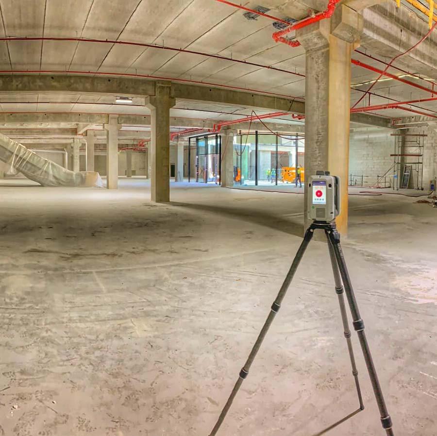 Scan 3D Relevé Intérieur