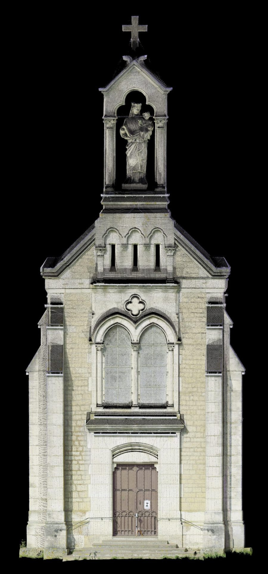 Orthophoto Facade Monument